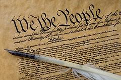 Constitution & quill